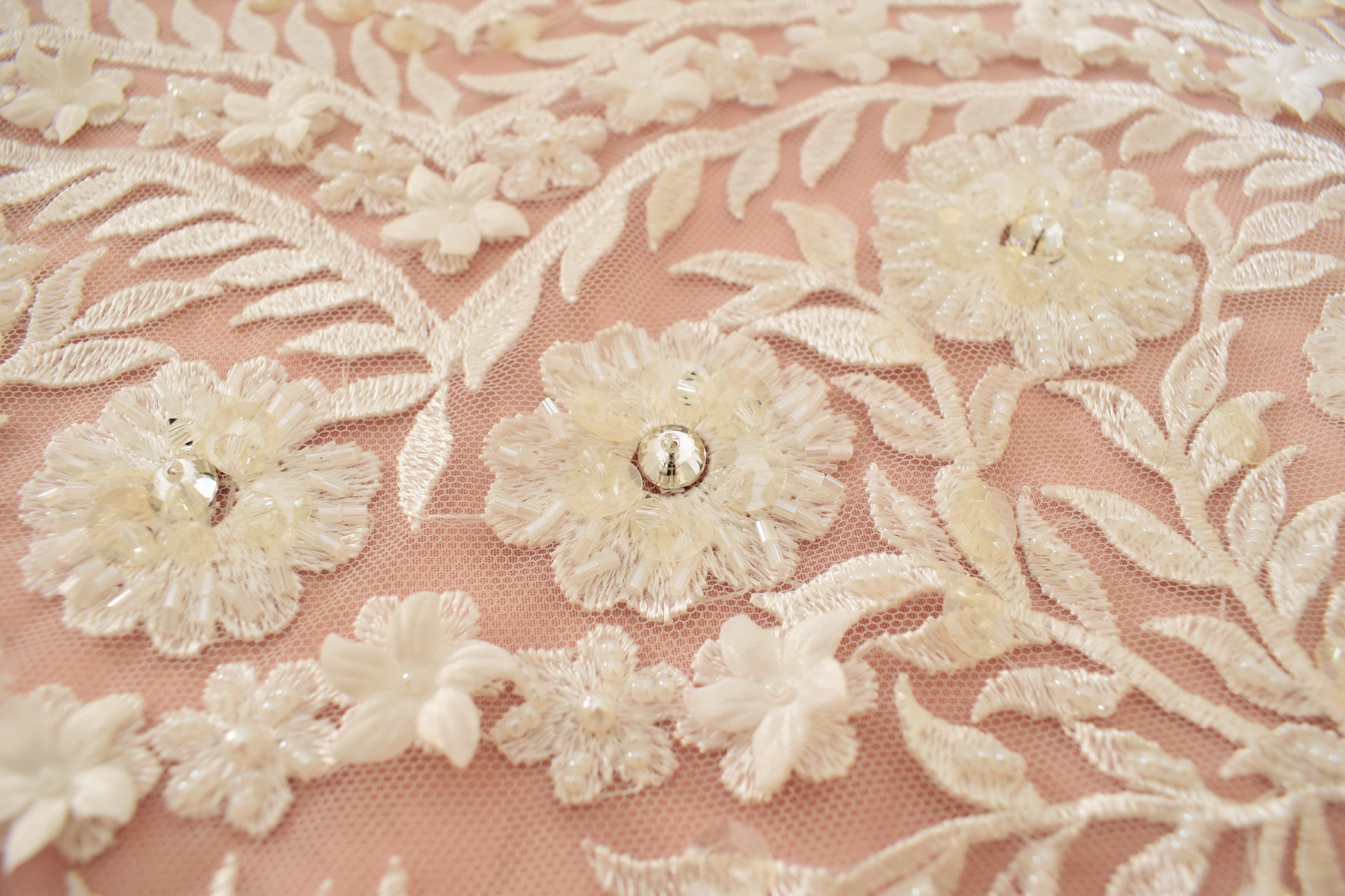 Guipure: Embroidered «A63646Y3-N44»