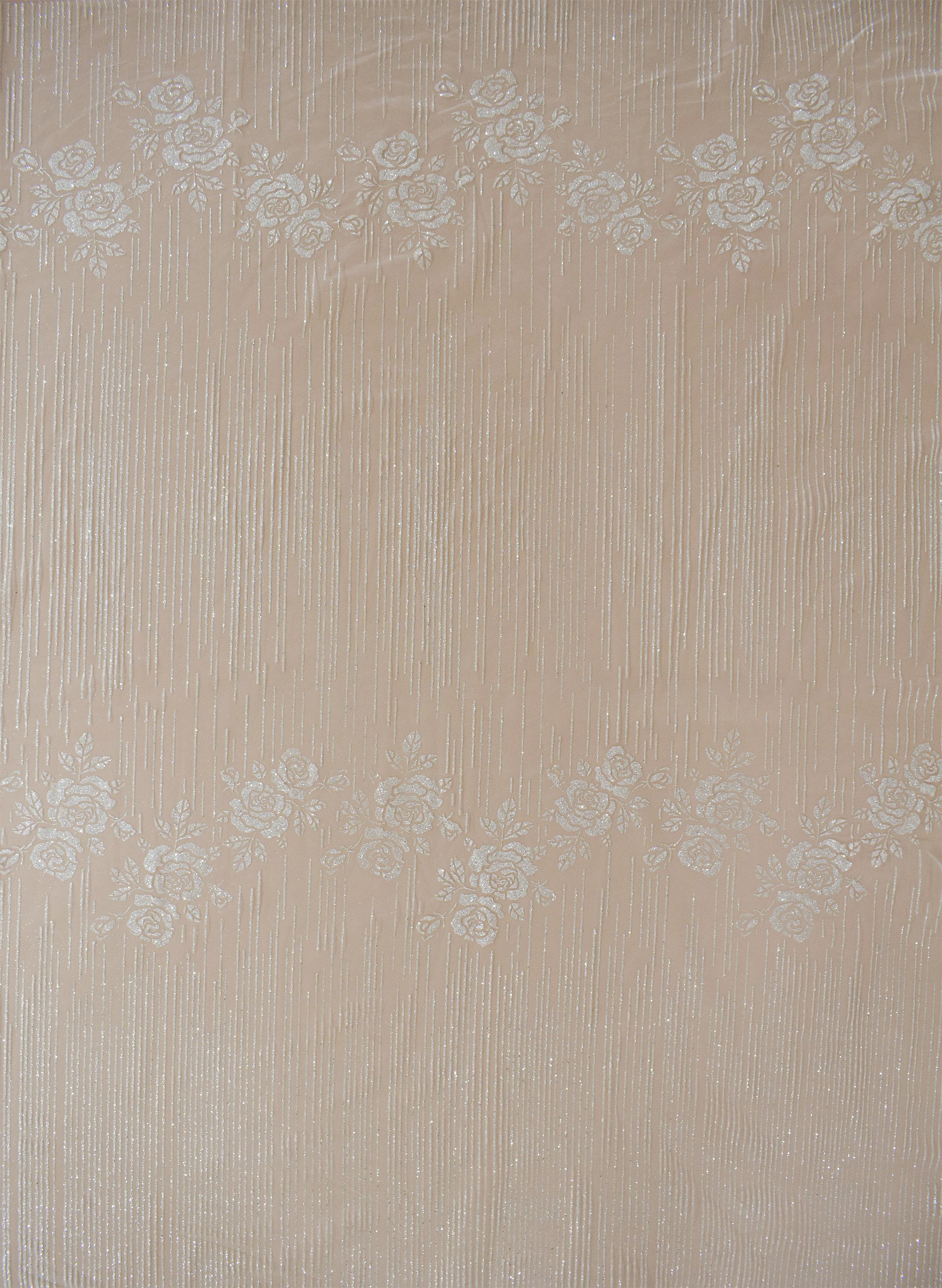Fabric mesh: With glitter «AK-747»