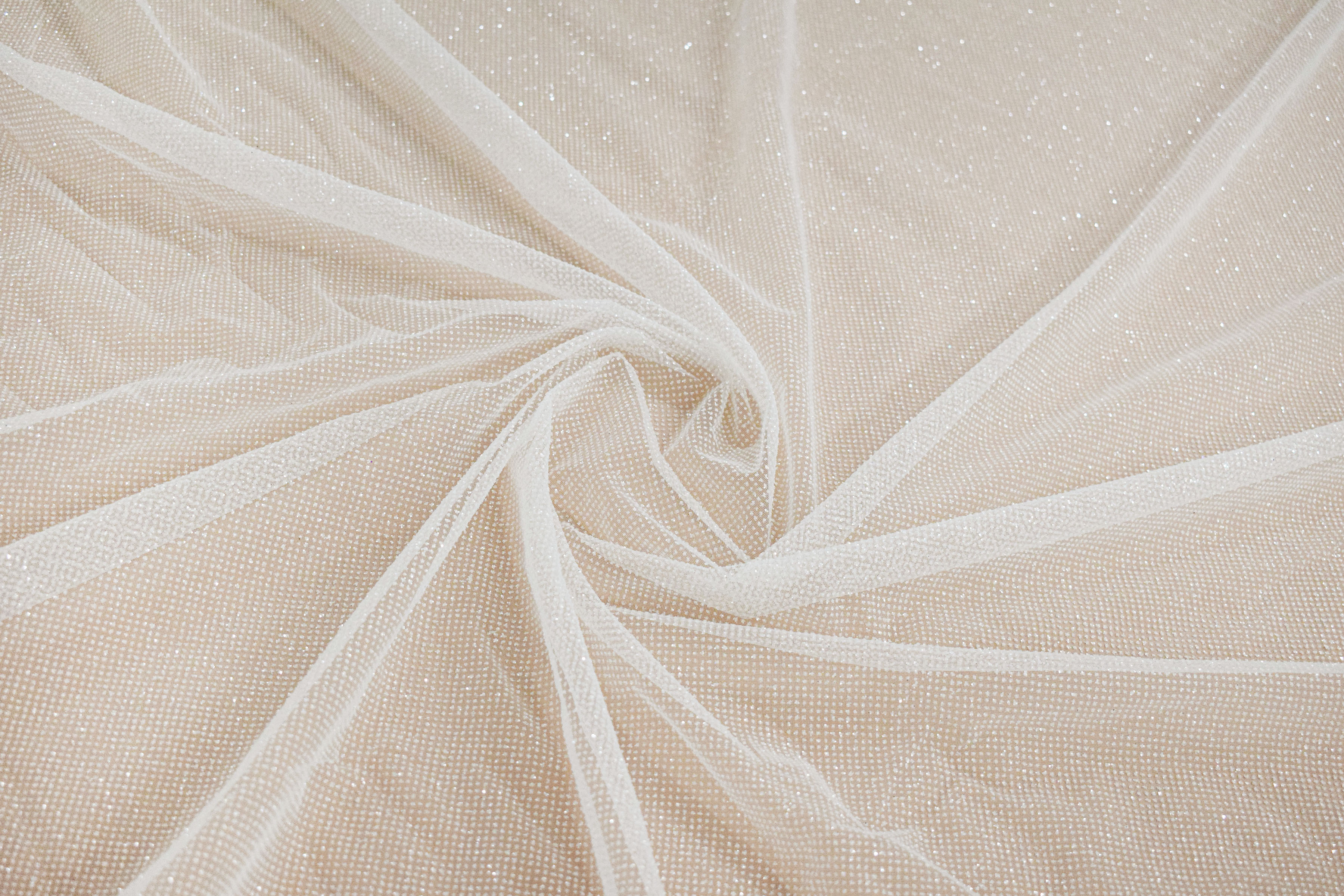 Fabric mesh: With glitter «AKN-323»