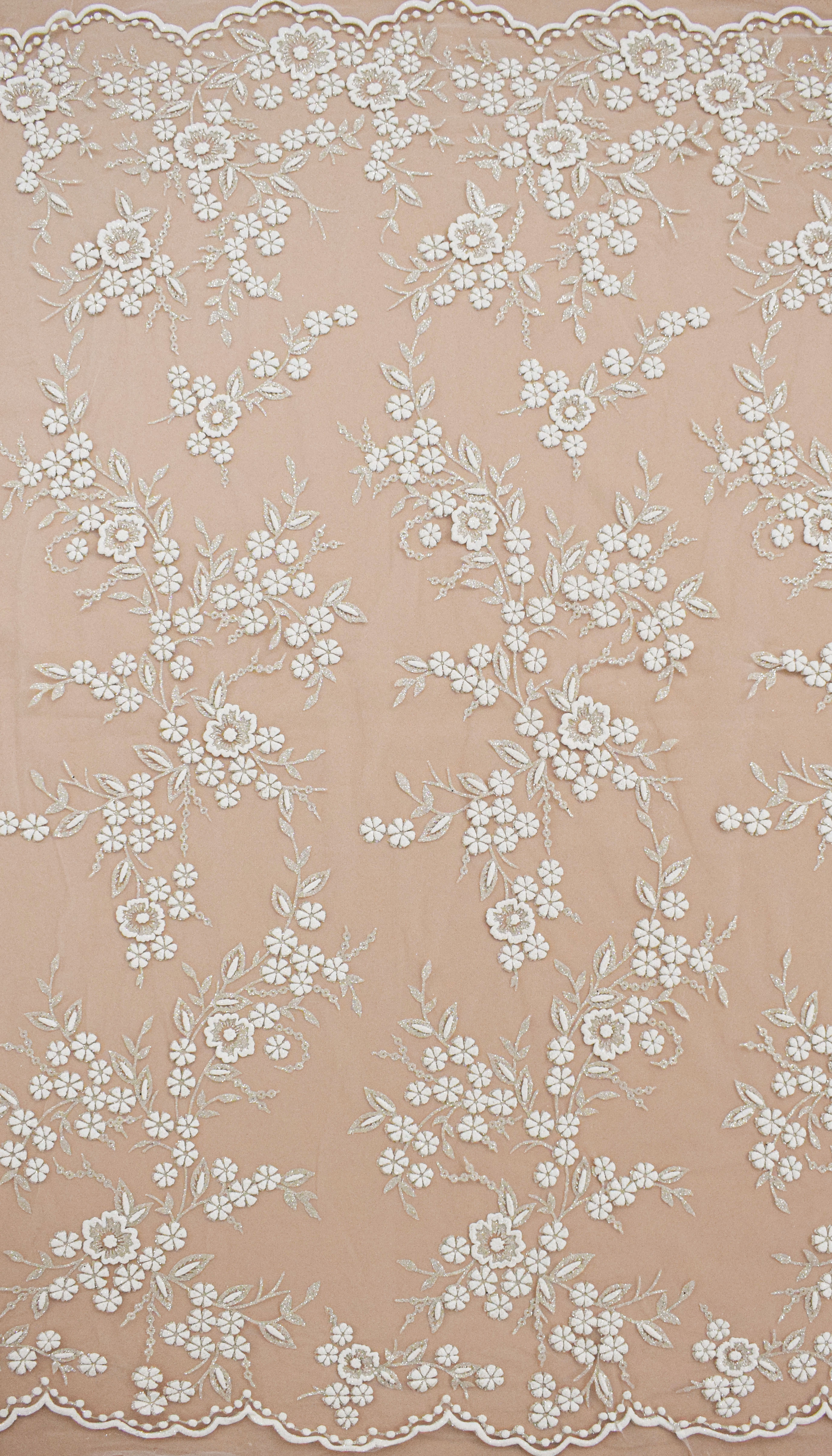 Fabric mesh: With glitter «AKN-559»