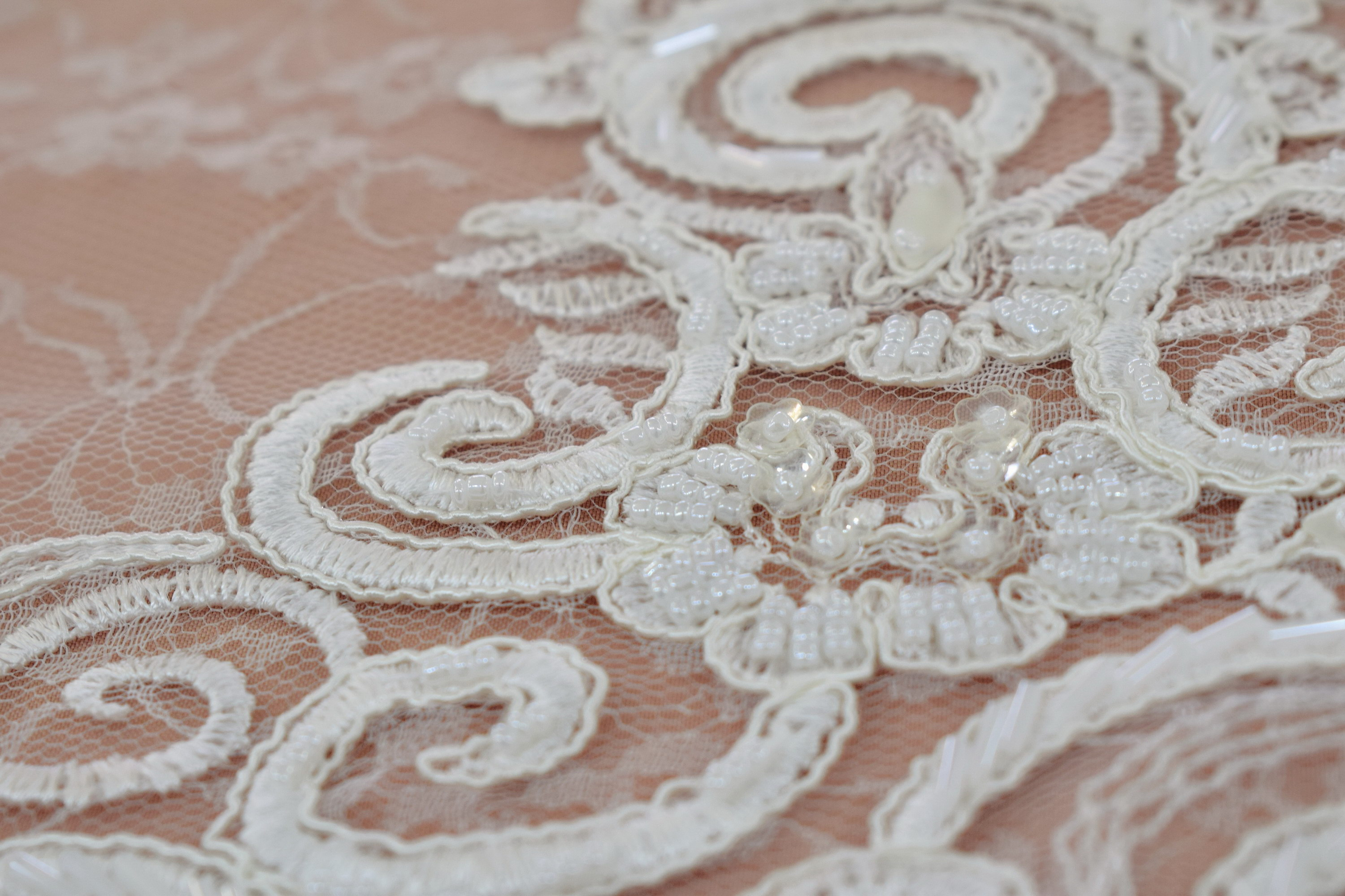Guipure: Embroidered «B63671-GY3-A92217»