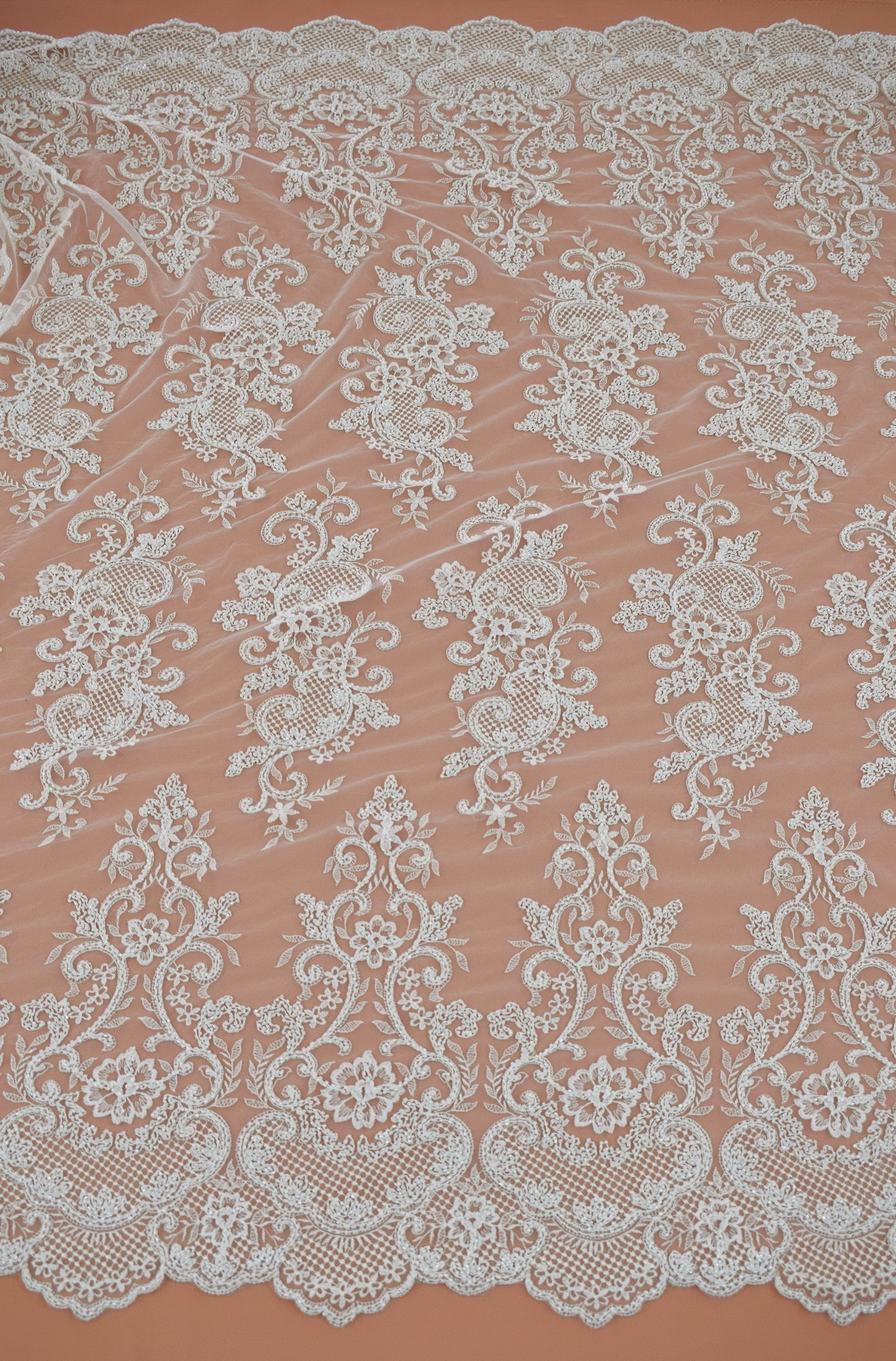 Guipure: Embroidered «C63400Y2-N44»