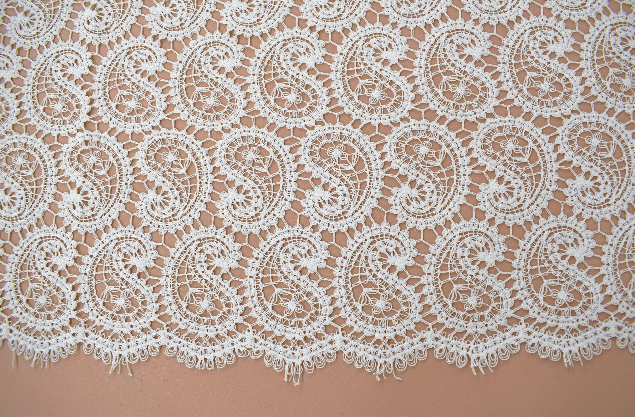 Macrame: Embroidered «LG40269»
