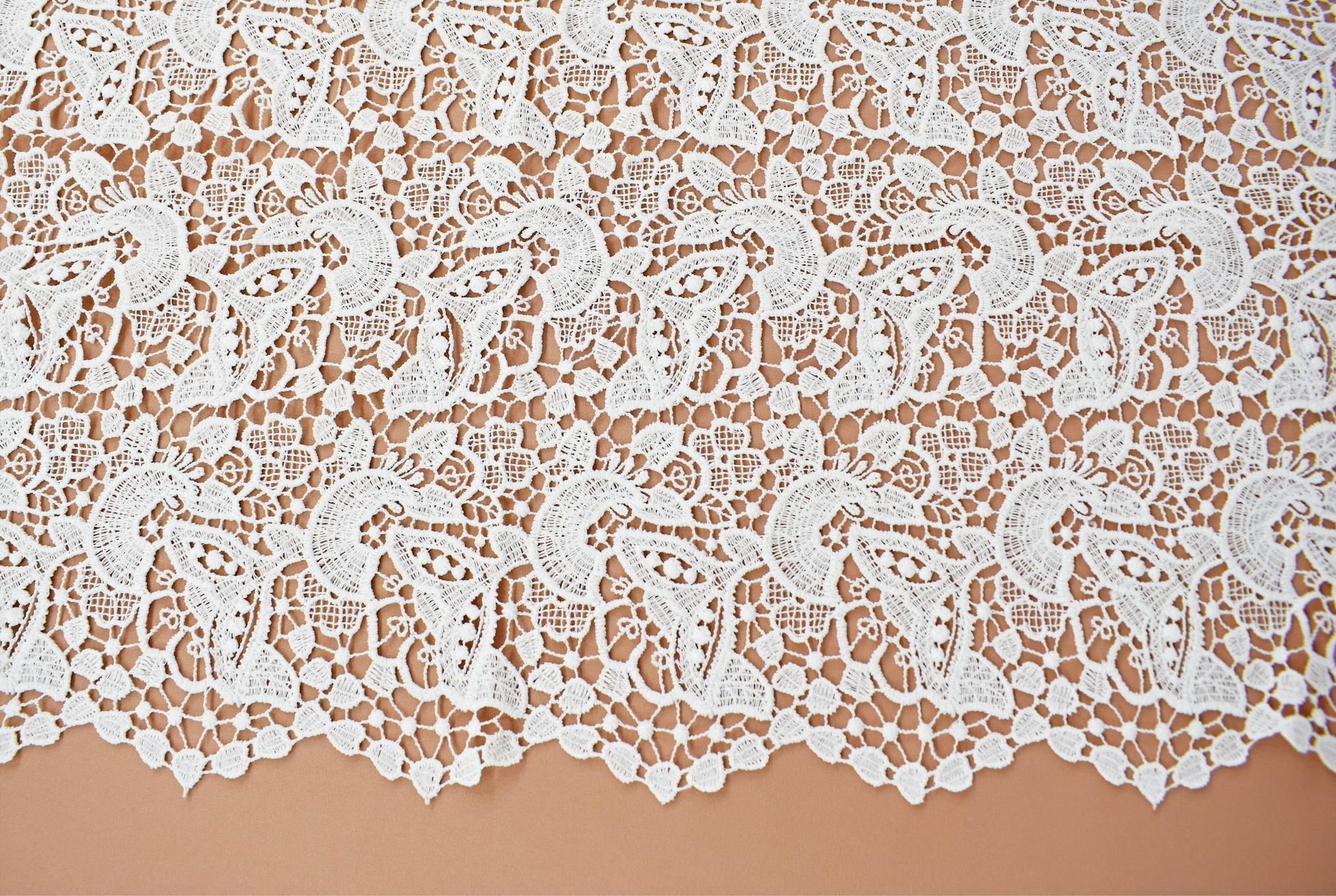 Macrame: Embroidered «LG40383»