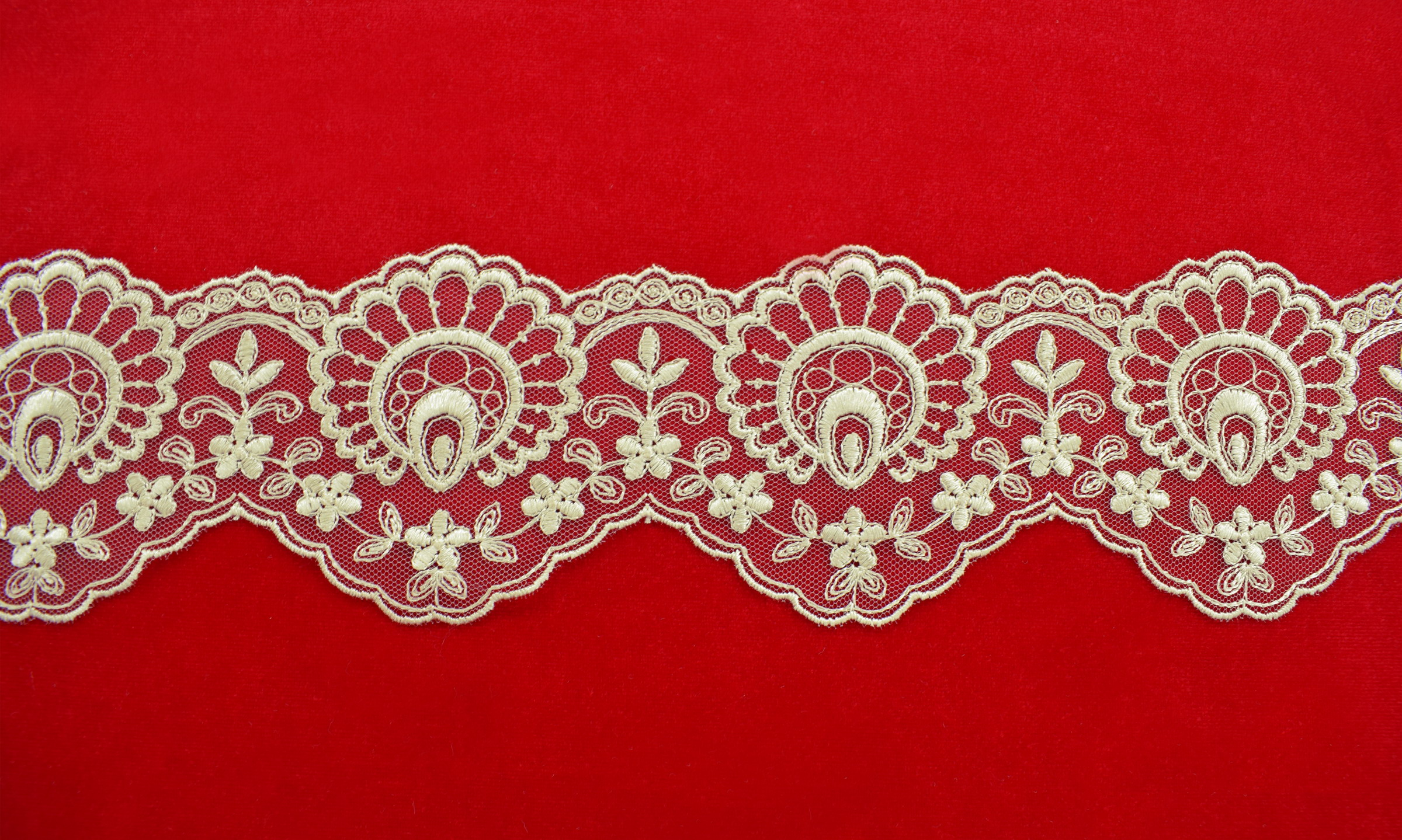 Lace: Not embroidered «F2350»