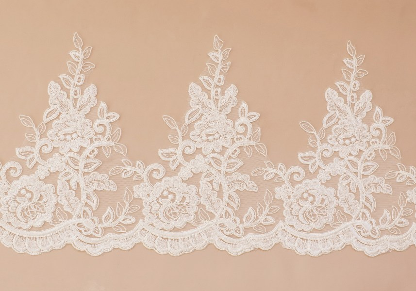 Lace: Not embroidered «8837»